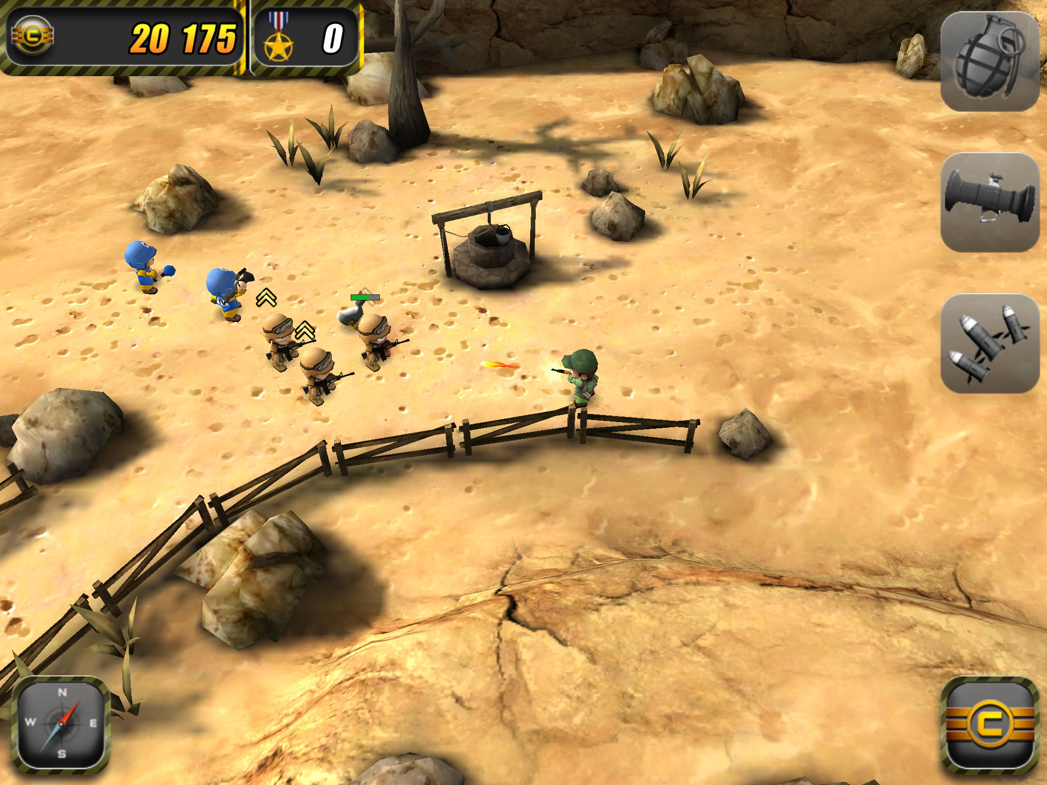 Chillingo slashes price of Tiny Troopers on App Store down to 69p/99c