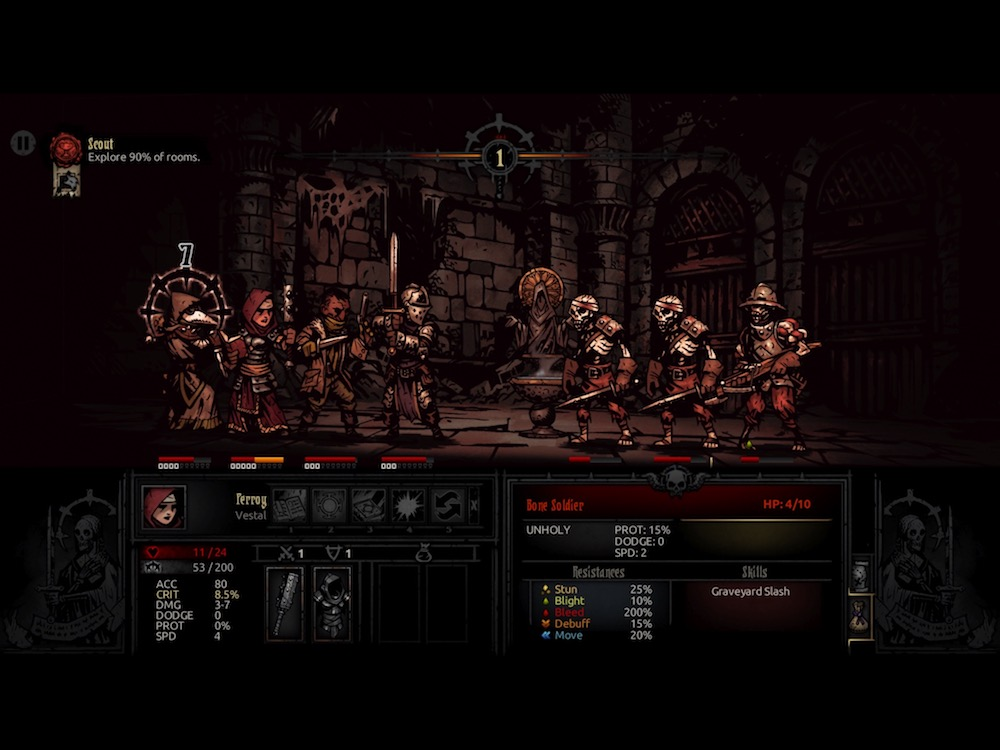 Darkest Dungeon review - A dungeon crawler that hurts so good