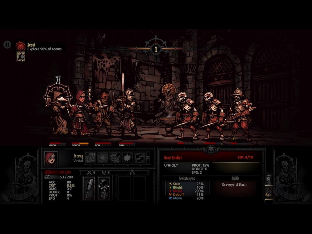Red Hook Studios reveals that their bleak RPG Darkest Dungeon is headed to Nintendo Switch