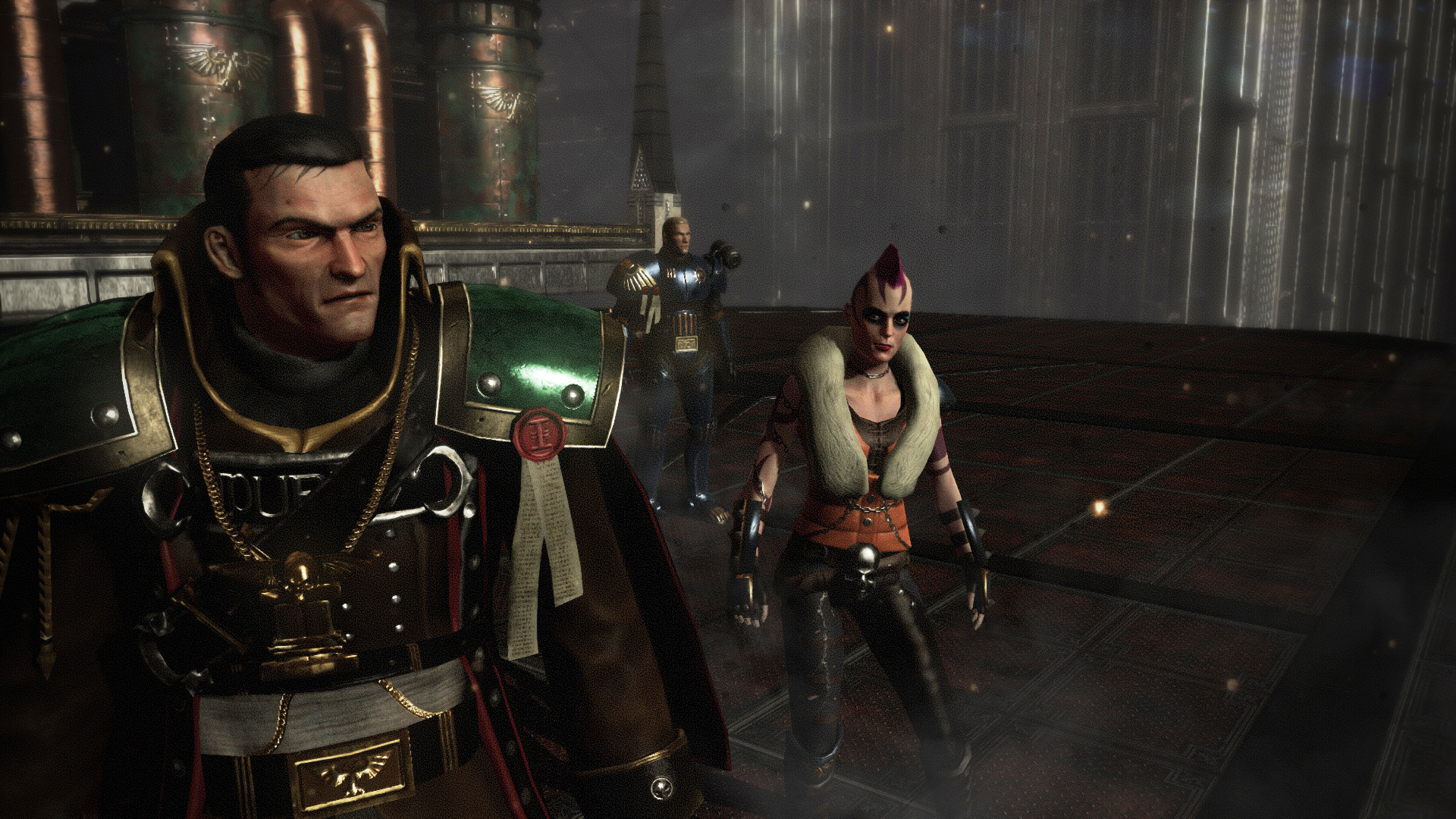 Warhammer spin-off Eisenhorn: Xenos shows you how to punch with a gun in new teaser