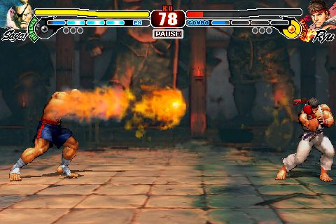 Next Street Fighter IV update for iPhone includes Sagat and new gameplay features