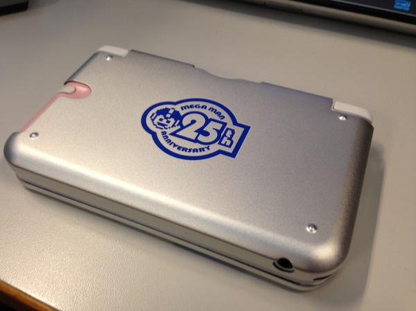 Show your allegiance to Capcom's platforming hero Mega Man with a case for your 3DS