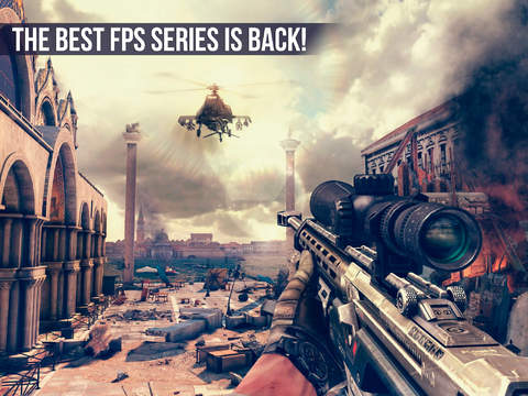 Modern Combat 5 is on sale for the first time ever on iOS and Android
