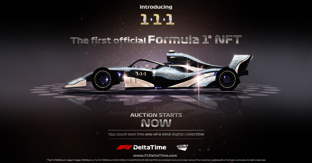 F1® Delta Time introduces the world's first Formula 1® NFT