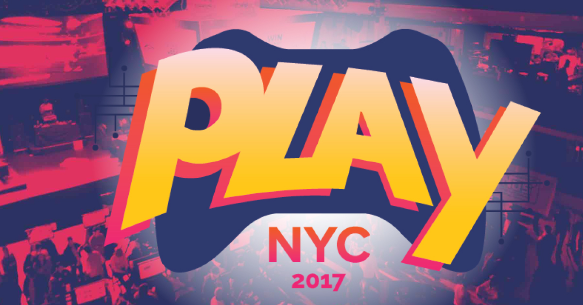 Be one of the first to experience Play NYC, New York City's new premier games convention