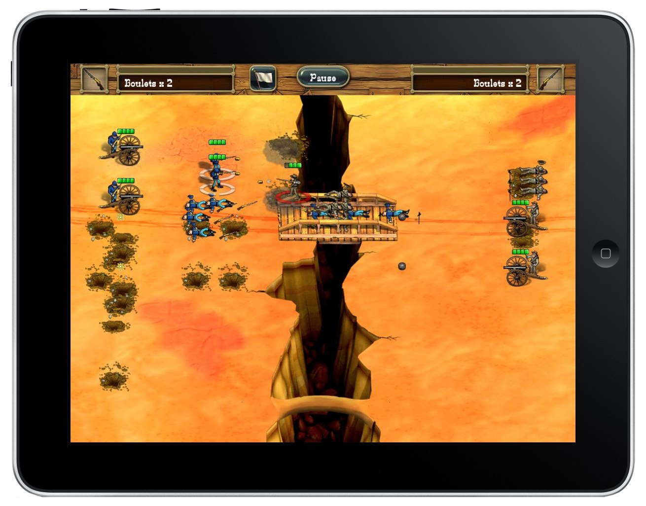 Remake of classic action-strategy game The Bluecoats - North & South heading to iOS on May 10th