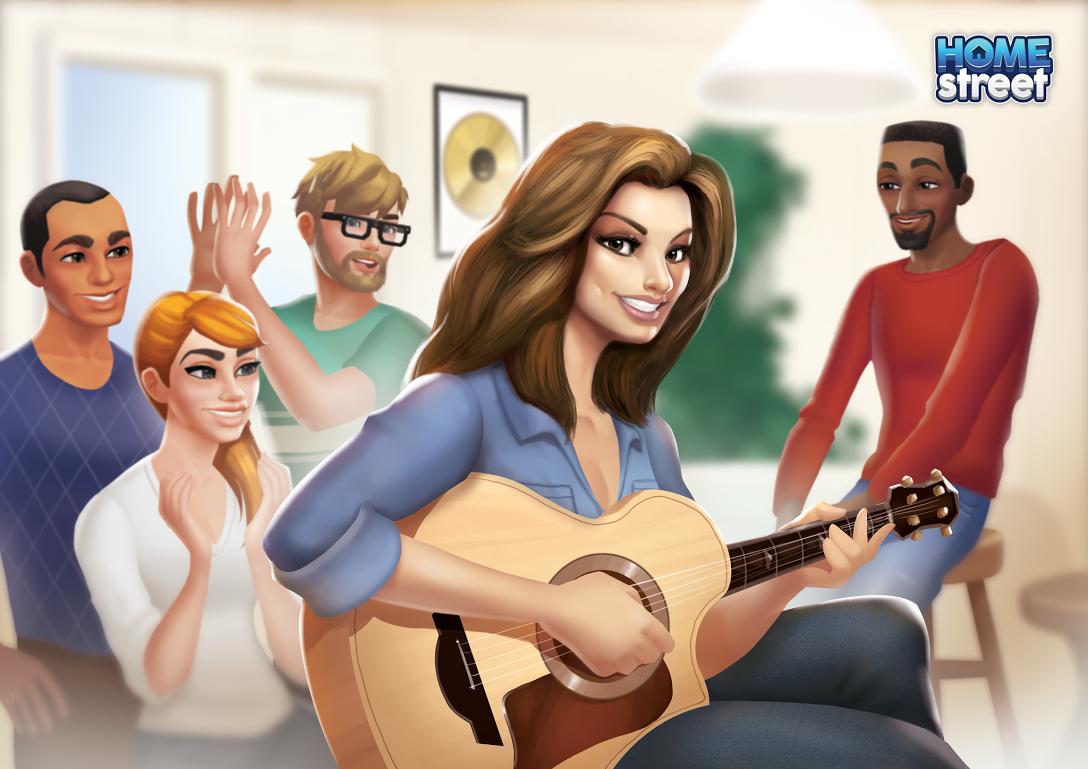 Five-time Grammy Award winning artist, Shania Twain, joins the life simulator Home Street