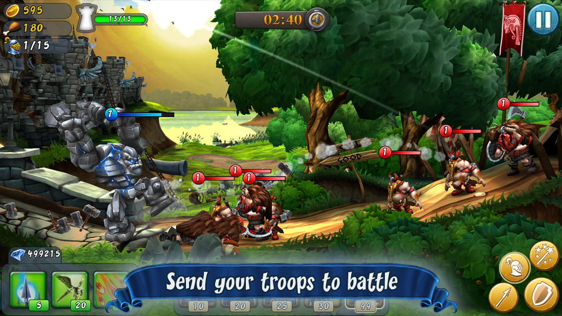 CastleStorm - Free to Siege is a medieval mash-up of Angry Birds and Swords and Soldiers that's out now for iOS and Android