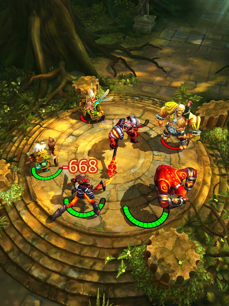 Isometric strategy Etherlords, by Nival Inc., lands on iOS September 4th