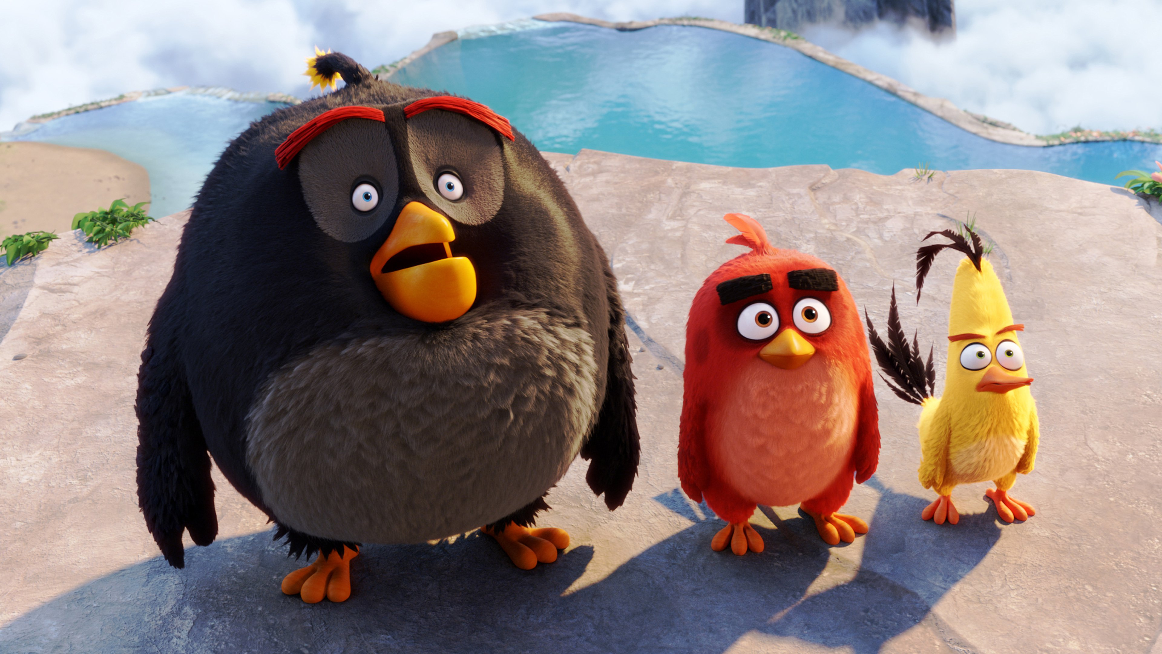 Going to see Angry Birds' movie this week? Don't forget to bring your smartphone with you