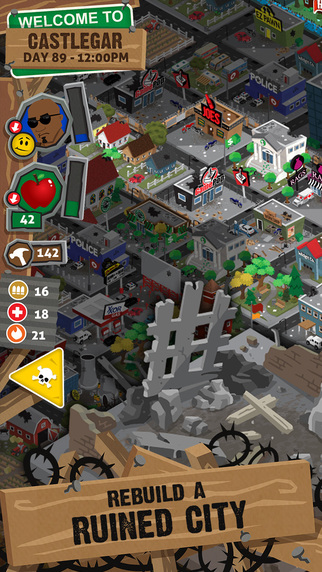 Build a city in the middle of a zombie apocalypse in Rebuild 3, out now on iOS and Android