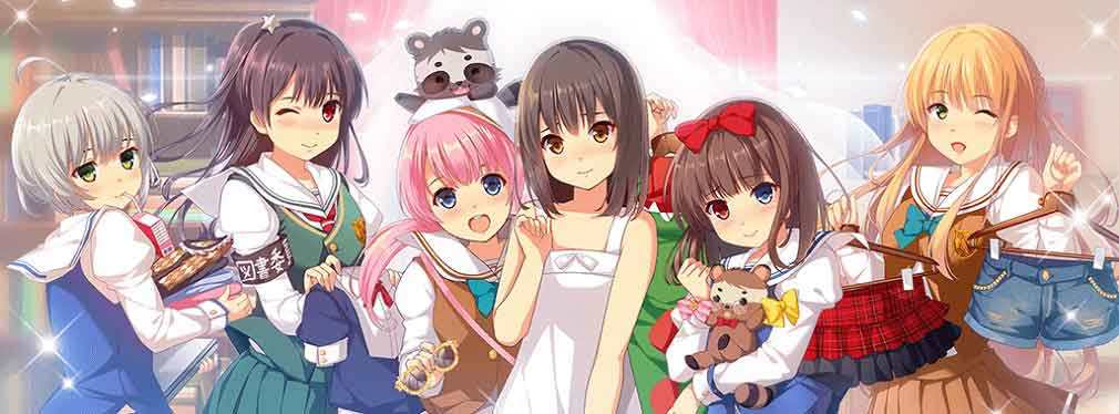 Dream Girlfriend now features characters from anime show KonoSuba
