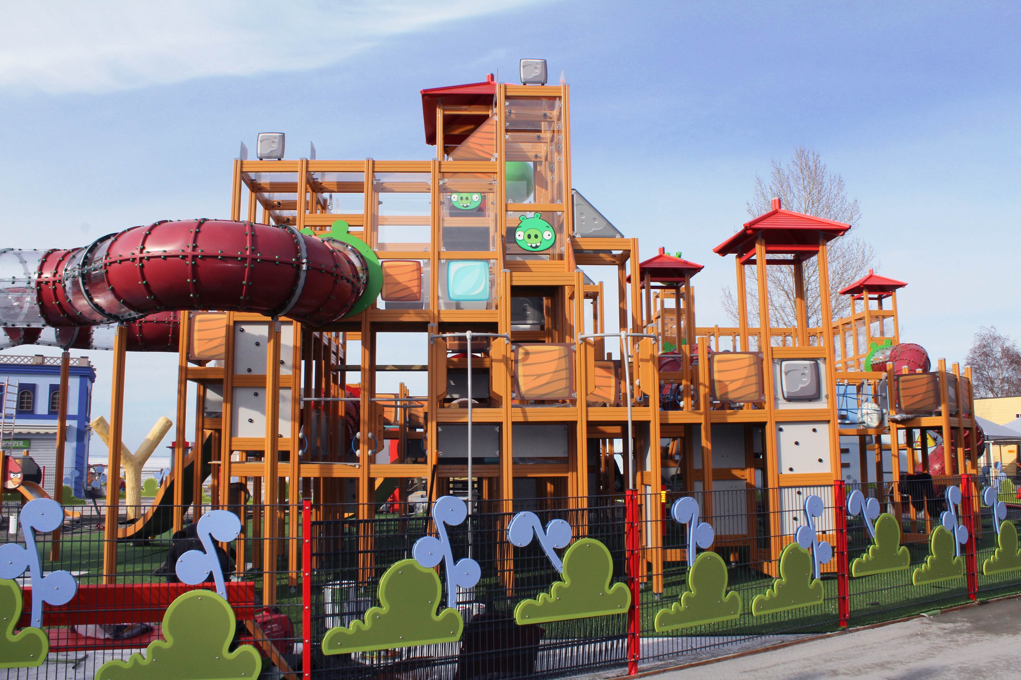 angry birds theme park section opens in finland news