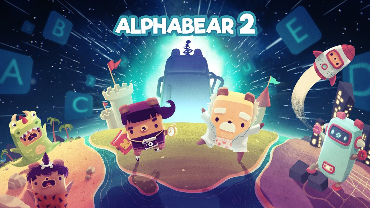 The word-making puzzler sequel Alphabear 2 has snuck out on iOS and Android