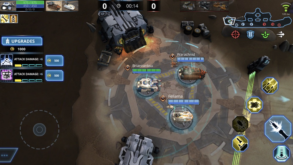 Panzer League is a slow-paced MOBA filled with tanks that's just come out for mobile