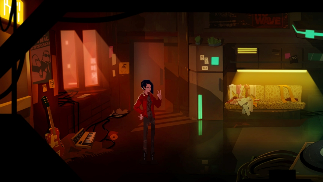 EGX 2015: Void and Meddler is a beautiful looking point-and-click adventure with a grim cyberpunk twist