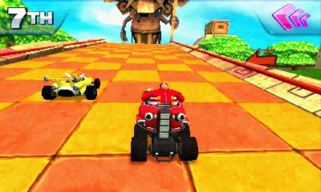 Sonic & All-Stars Racing Transformed skidding onto 3DS on Friday