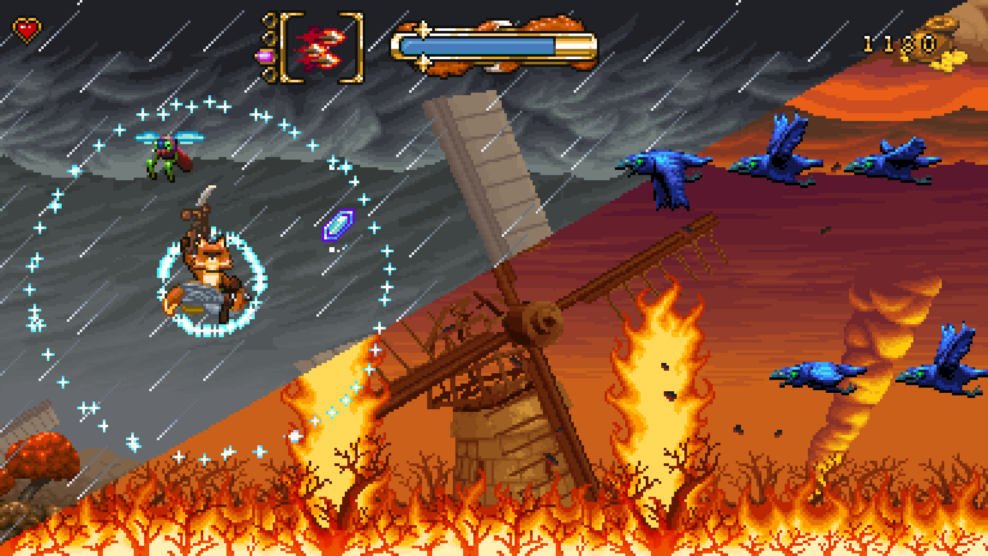 New FOX n FORESTS gameplay shows us how changing seasons impacts your experience