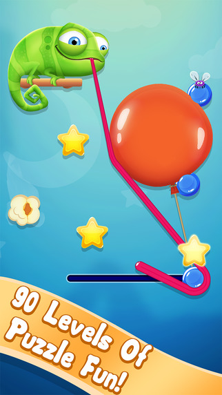 Noodlecake's fun and polished puzzler Pull My Tongue is this week's free app on iOS
