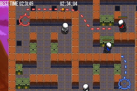 Strategic line-drawing shooter Split! is making a break for your iPhone and iPad