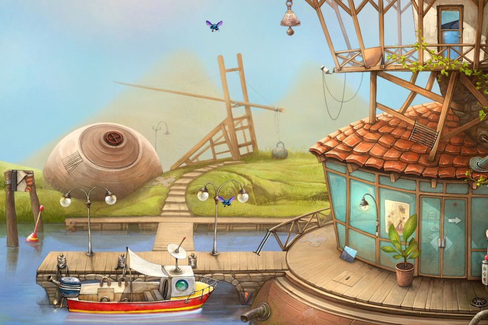 Curious iOS puzzler The Tiny Bang Story is now free on iPhone and iPad