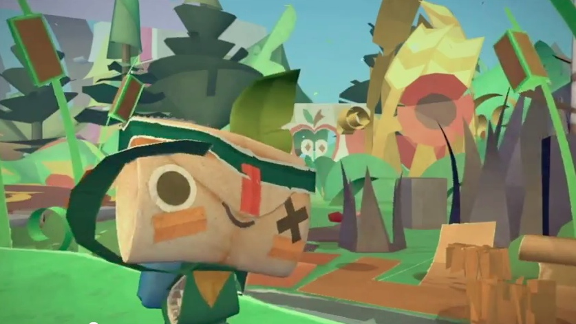 Tearaway takes home 3 awards at this year's video game BAFTAs