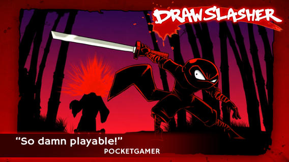 Out at midnight: Silver Award winner Draw Slasher leaps over to iOS from Vita