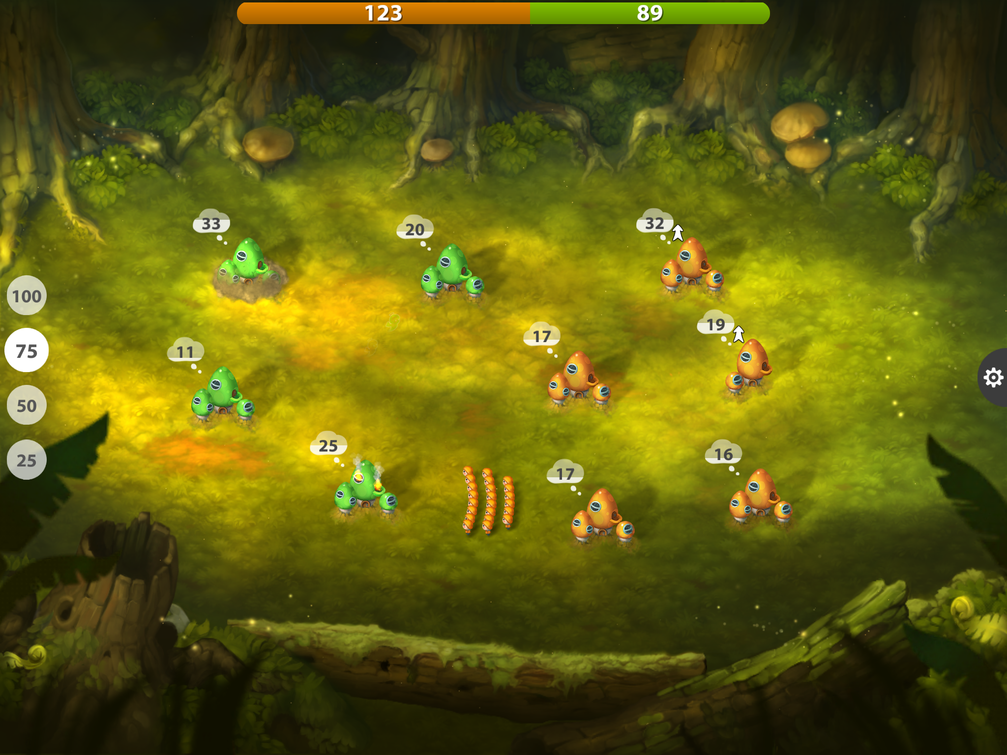 Mushroom Wars 2 review - A strategy game by the numbers