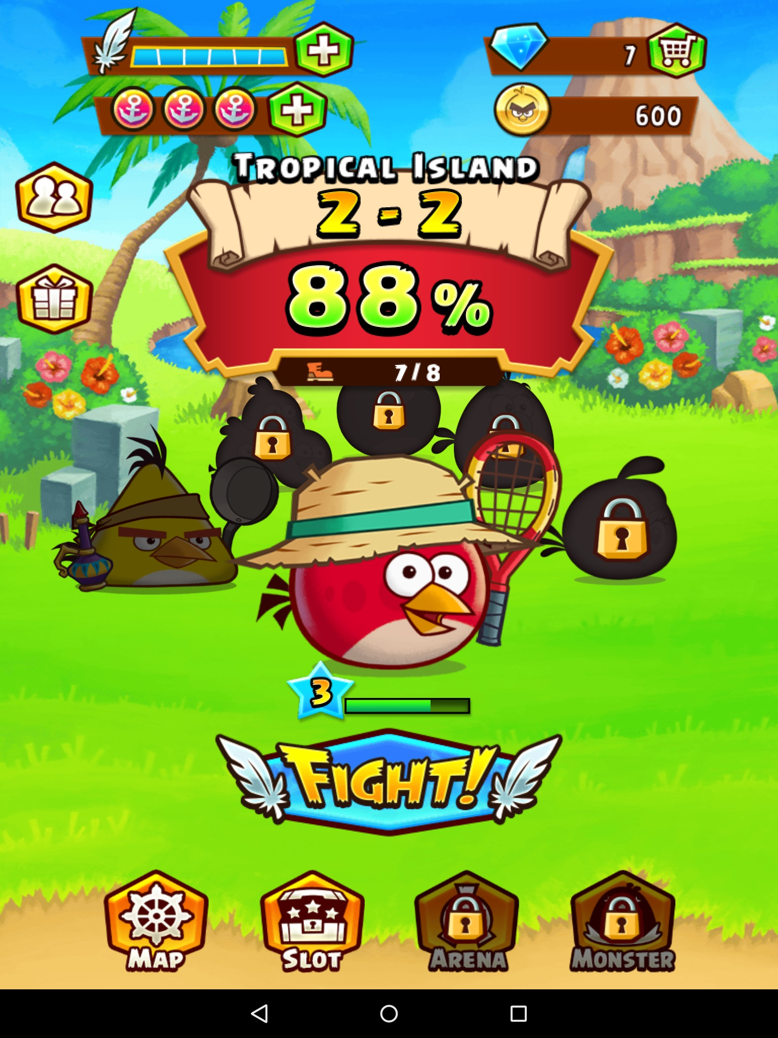 Angry Birds Fight! - A bit of a mismatch