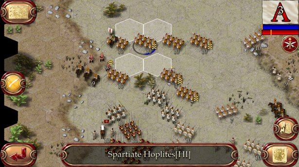 Ancient Battle: Alexander is a historical strategy battler for iPad and iPhone from Hunted Cow