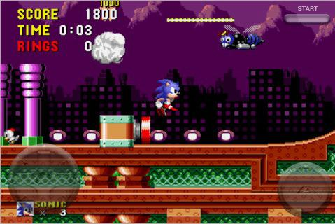 Sonic The Hedgehog and Sonic The Hedgehog 2 are available on iOS right now for just 69p/99c