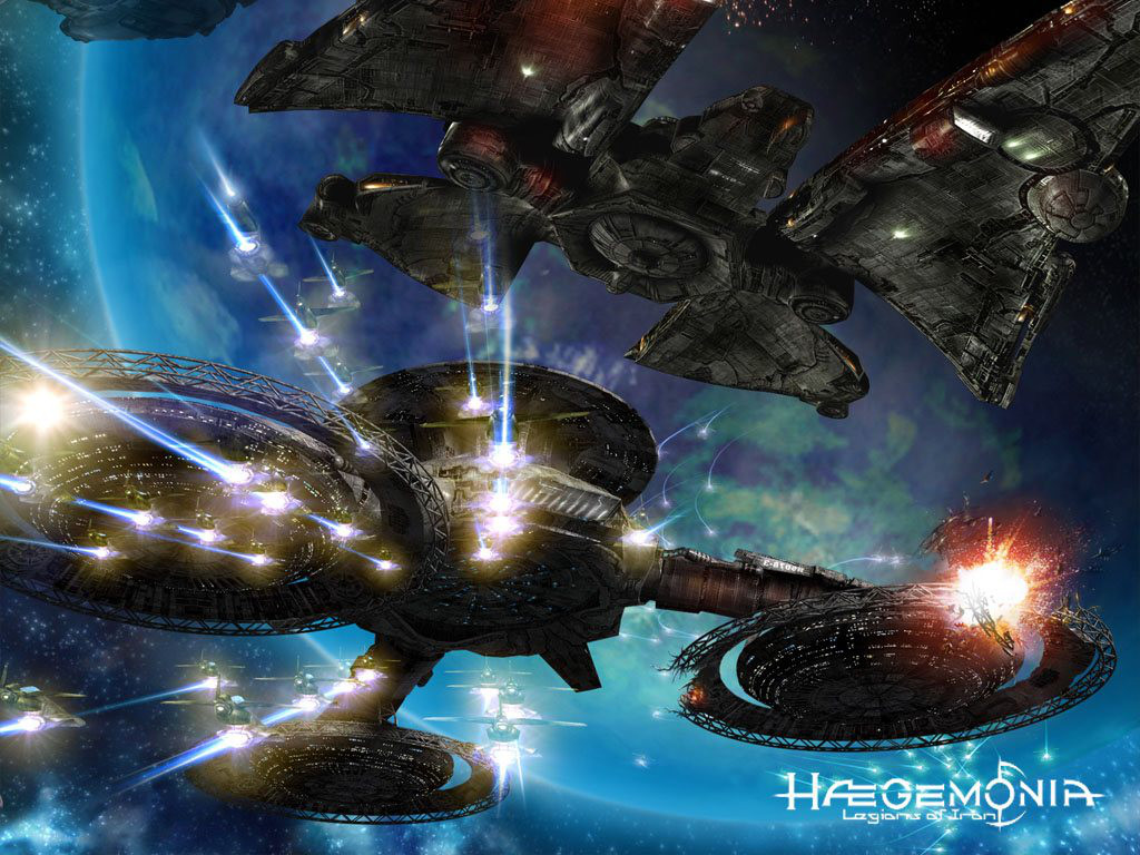 Haegemonia: Legions of Iron is a huge space-based strategy and resource management game that's out now for iPad and Android