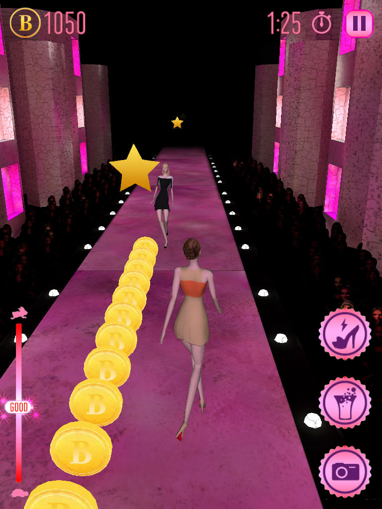 Strike a pose and demonstrate your catwalk class in Conde Nast's Fashion Hazard