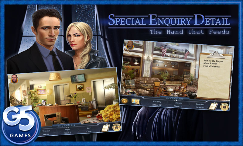 Hidden object iPhone thriller Special Enquiry Detail: The Hand that Feeds to be redeployed on Android on September 29th