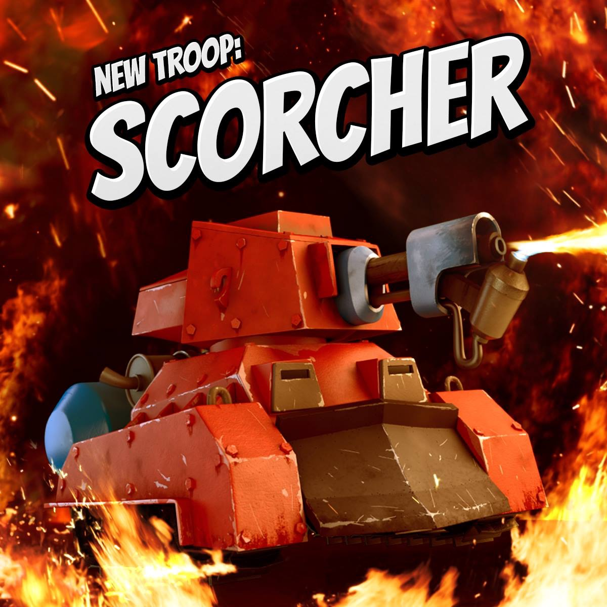 Meet the Scorcher: Supercell adds a new troop to Boom Beach
