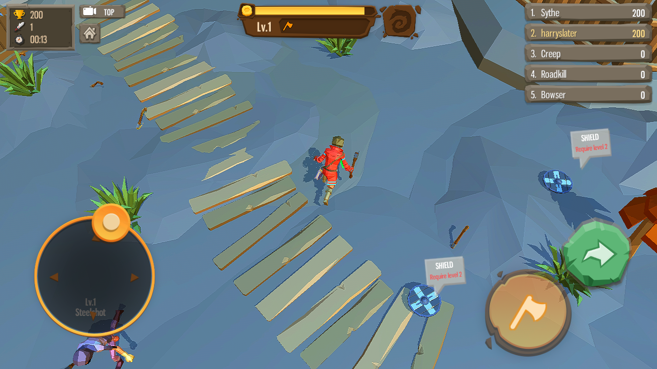 AXE.IO cheats and tips - Everything you need to know about levelling up and items