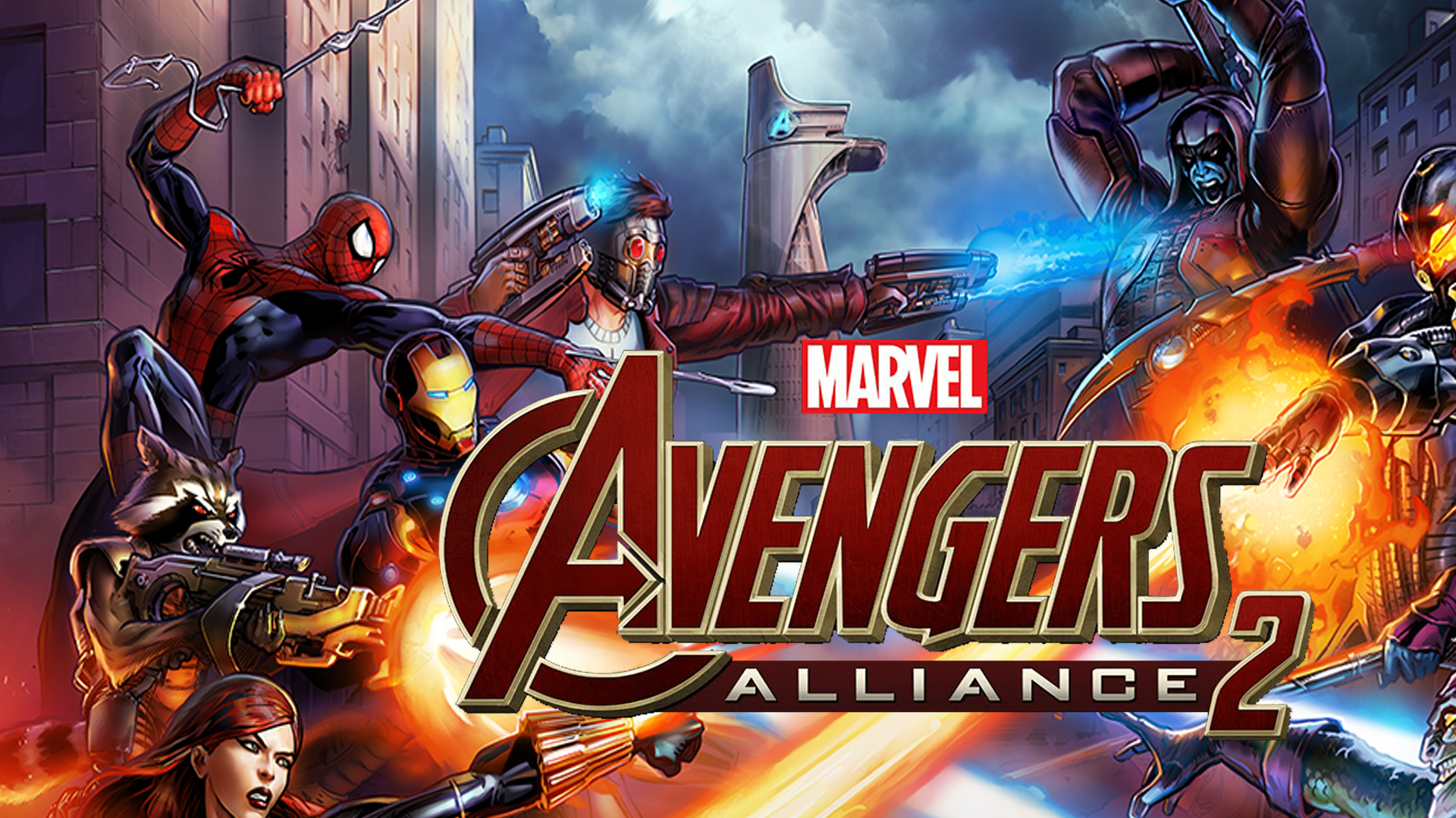 A first look at Marvel Avengers Alliance 2