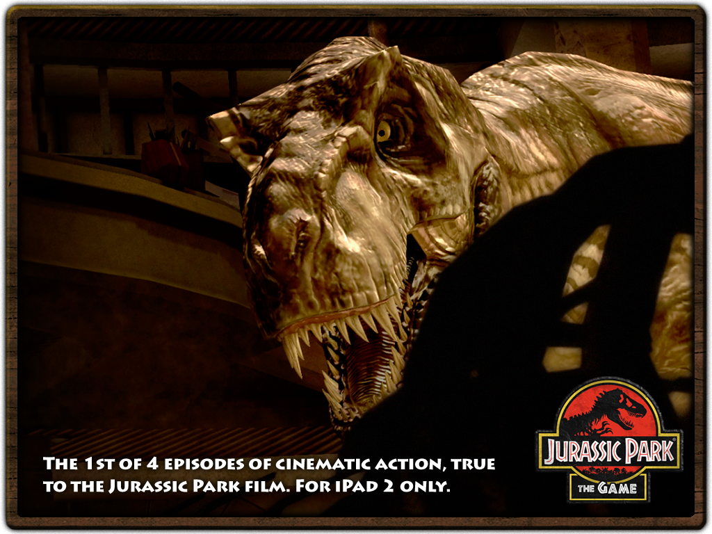 Jurassic Park: The Game 1 HD | Articles | Pocket Gamer