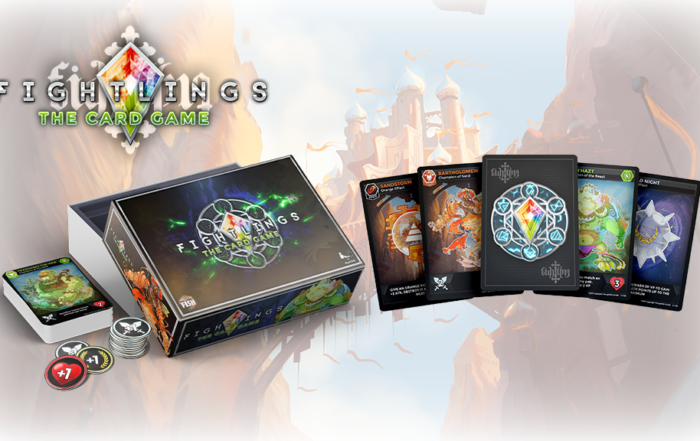 A crowd-funded board game version of Fightlings could well be on the way