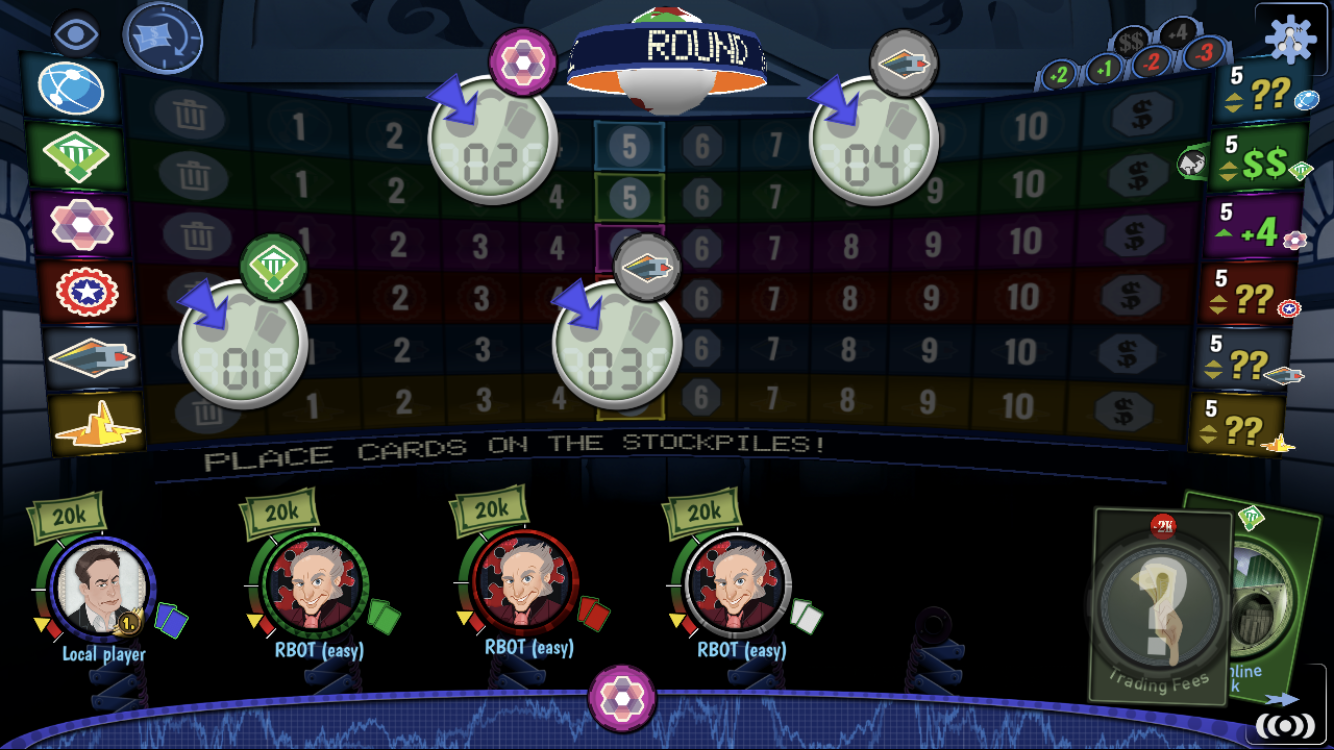 "Stockpile review - ""A very heavy dose of economic board game entertainment"""