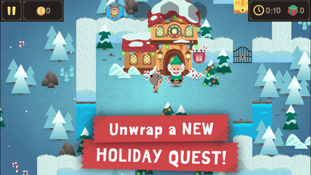 Monsters Ate My Birthday Cake has been updated with some holiday-themed levels for iOS and Android