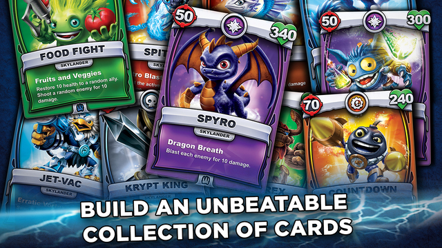Skylanders Battlecast expands the franchise to real and virtual trading cards, out now