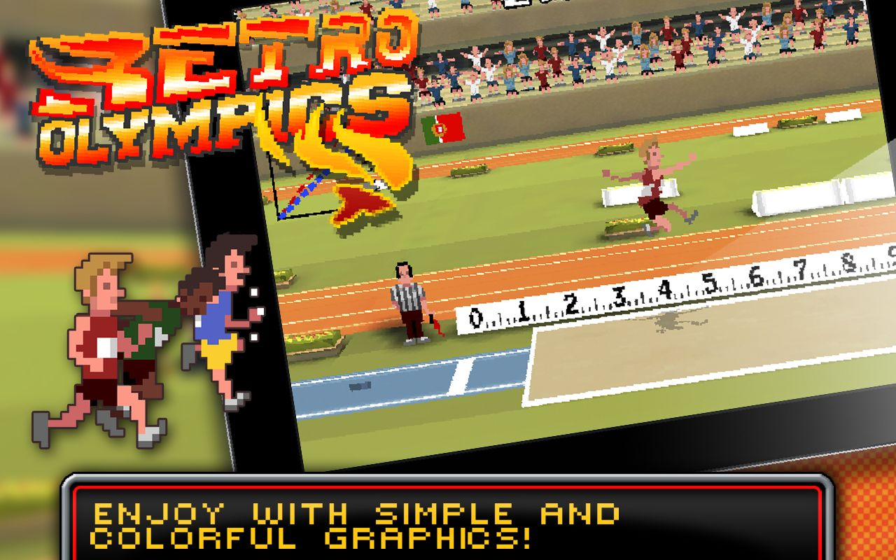 Retro Olympics ready to compete on Android