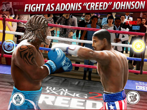 Punch men on the advice of Sylvester Stallone in Real Boxing 2 CREED, out now everywhere