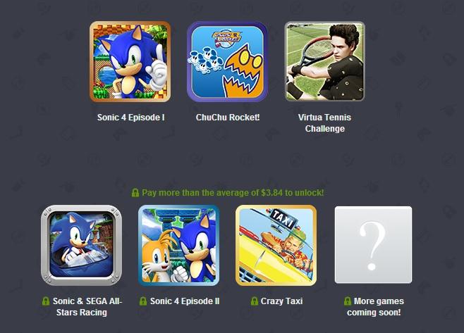 Humble Sega Mobile Bundle has Sonic games, Crazy Taxi, and ChuChu Rocket! going cheap