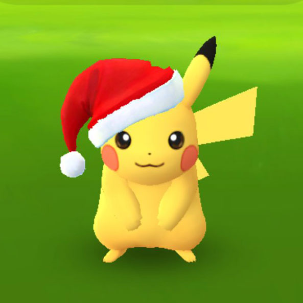 How to get a Christmas Pikachu (with a little Santa hat) in Pokemon GO