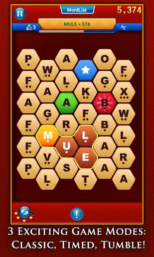 Silver Award-winning word game WordsWorth has just spelt its way onto Android