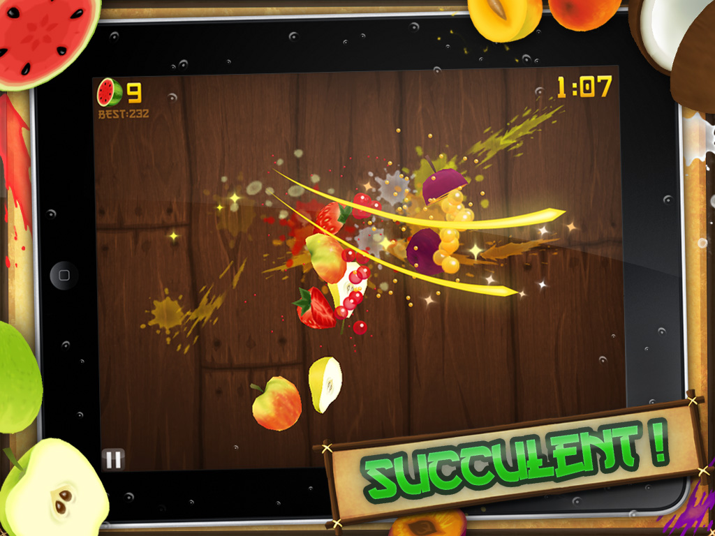 Fruit Ninja HD for iPad gets 1.0.1 update: new blade, fruit, and more