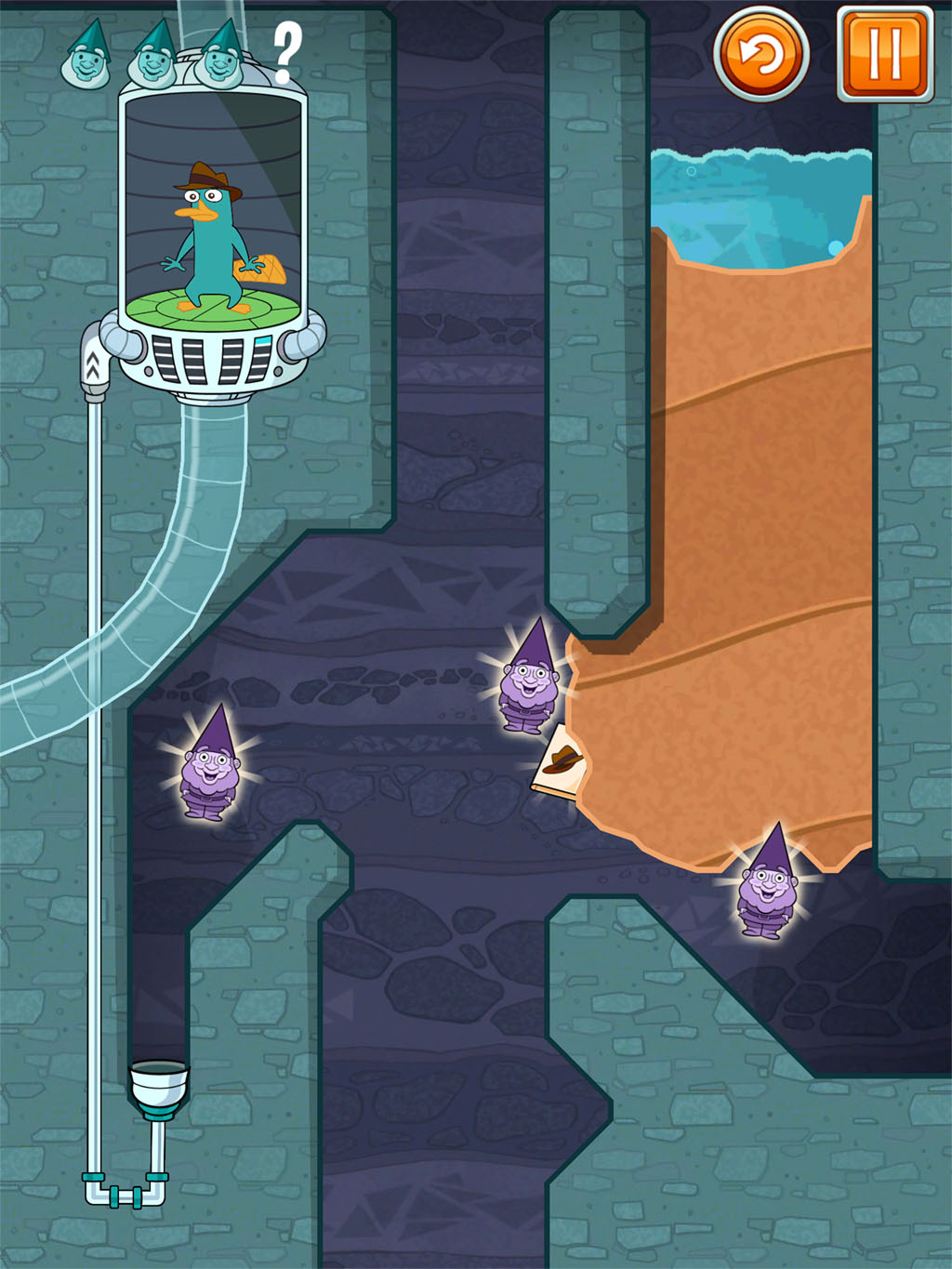 Wield the Turfinator in new paid-for Where's My Perry? level pack