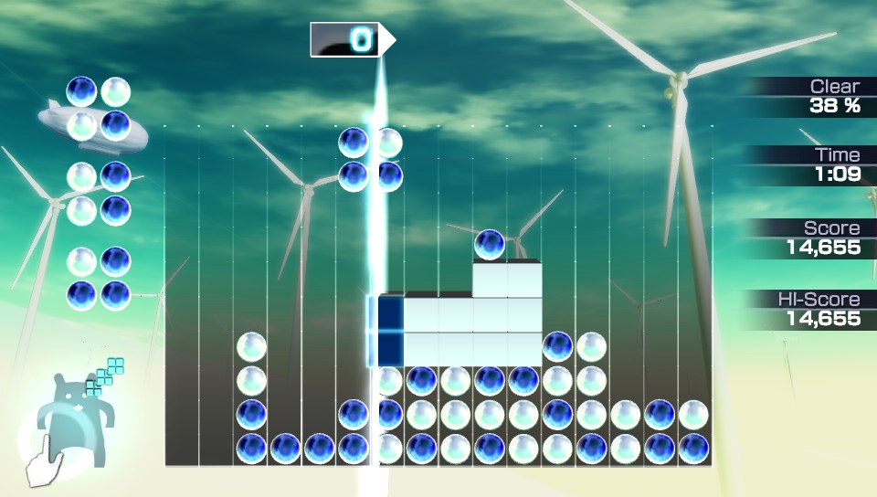 Who wants some vintage DLC for Lumines on Vita?